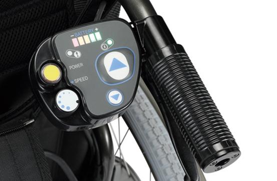 E-Drive plus rolstoel aandrijfsysteem veelzijdig