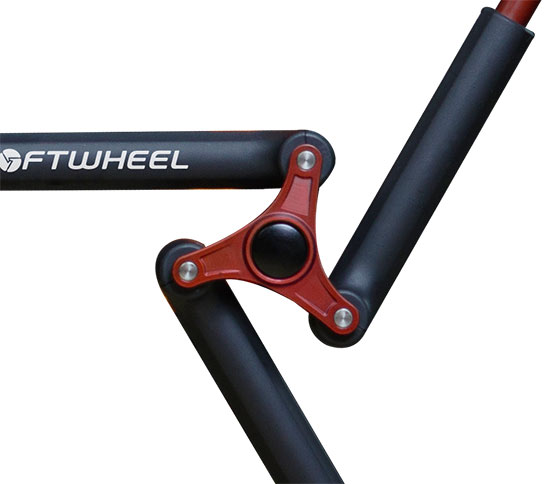 Softwheel mechanisch aandrijfsysteem werking